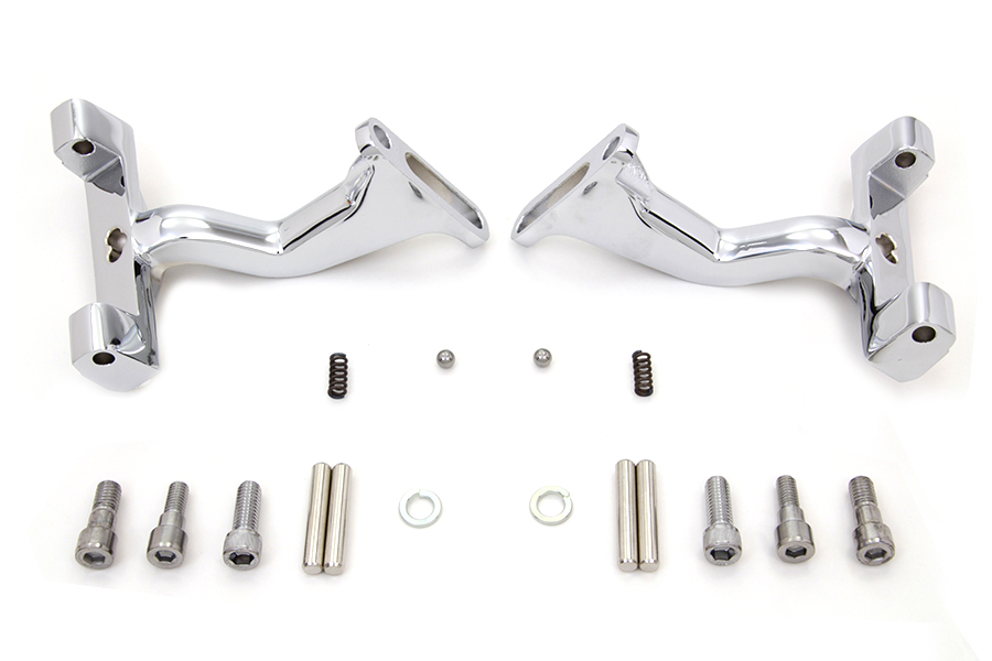 Chrome Reduced Reach Passenger Footboard Mount Kit
