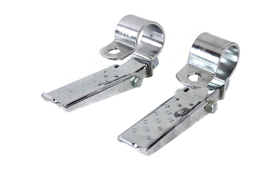 Stock Style Footpeg Set Chrome