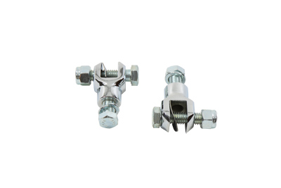 Footpeg Yoke Set Chrome