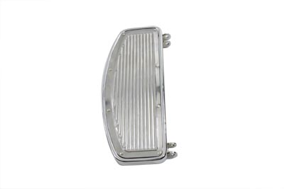 *UPDATE Driver Footboard Set Chrome with Ribbed Inserts