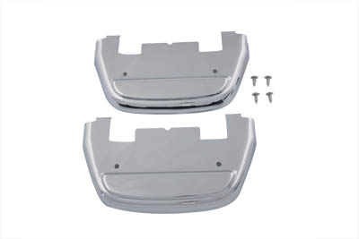 Chrome Passenger Footboard Cover