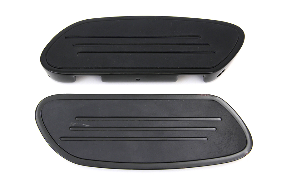 Black Passenger Footboard Set