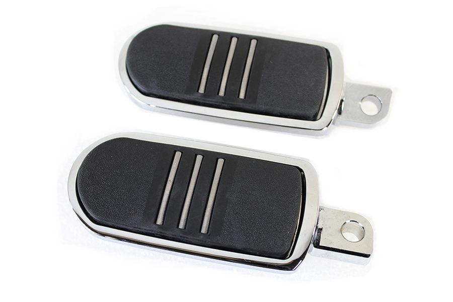Chrome Small Streamliner Style Footpeg Set