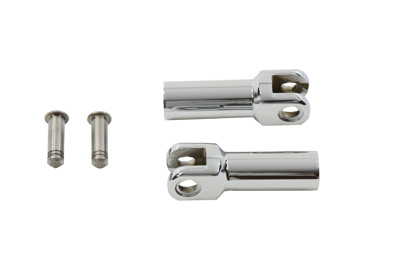 Footpeg Support Extension Kit Chrome