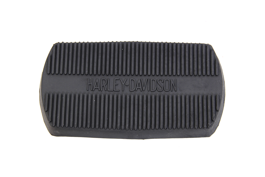 Black Large Brake Pedal Pad with Logo