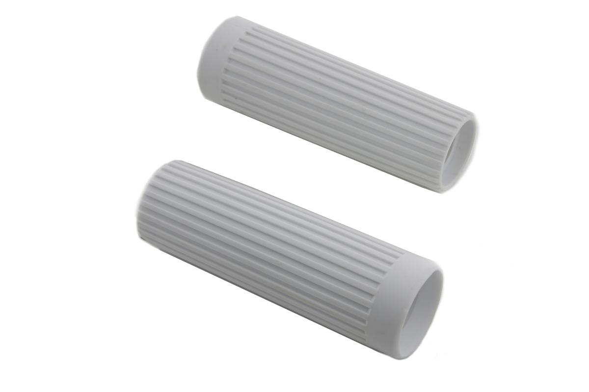 Replica Rib Style White Grip Set