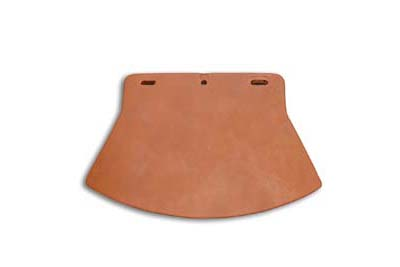 *UPDATE Mud Flap Leather Brown Plain