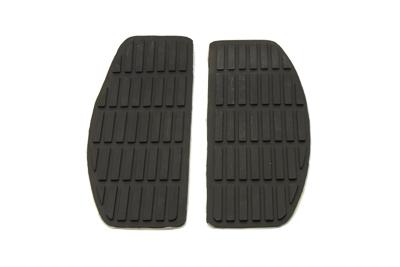 Footboard Black Mat Set
