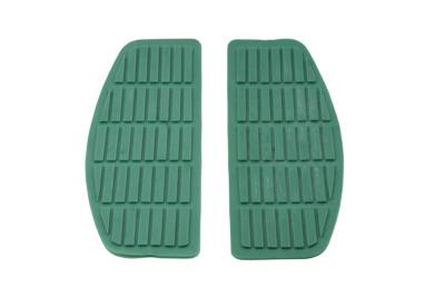 Footboard Teal Mat Set