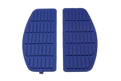 Footboard Blue Mat Set