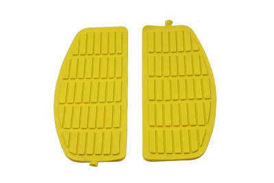 Footboard Yellow Mat Set