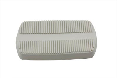 Brake Pedal Rubber Off White