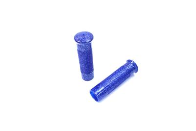 Blue Metal Flake Grip Set