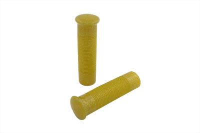 Yellow Metal Flake Grip Set