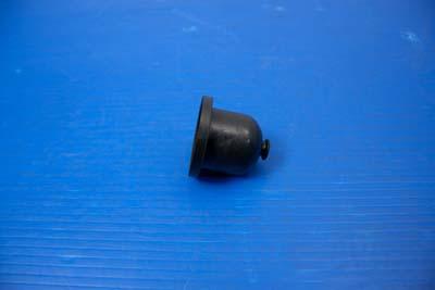 Black Solenoid Plunger Rubber Boot