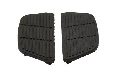 Passenger Footboard Mat Black