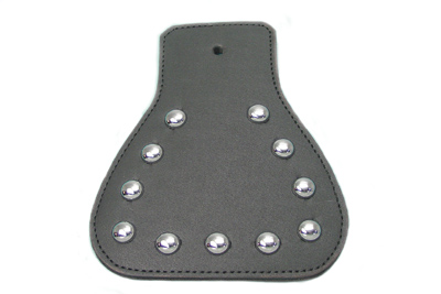 *UPDATE Mud Flap Leather Black Chrome Spots