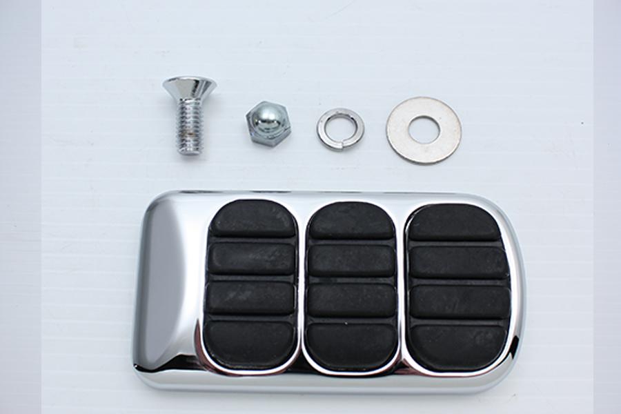 Brake Pedal Pad Chrome