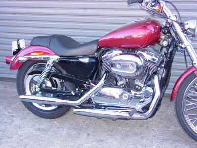 *UPDATE Exhaust Pipes With Tapered Muffler Chrome
