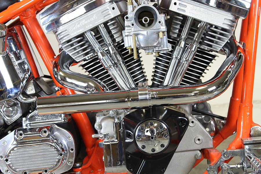 2:1 Siamese Exhaust Header Set Chrome