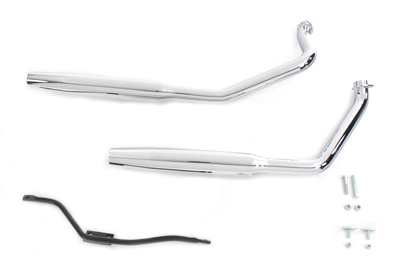 *UPDATE Chrome Exhaust Pipes With Tapered Mufflers