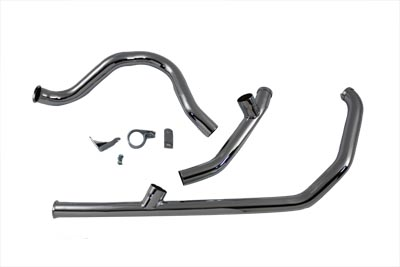 Dual Crossover Exhaust System Chrome
