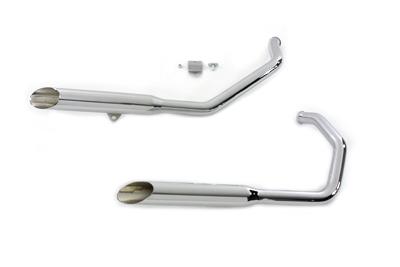 *UPDATE Exhaust Pipes Super Slash Muffler Chrome