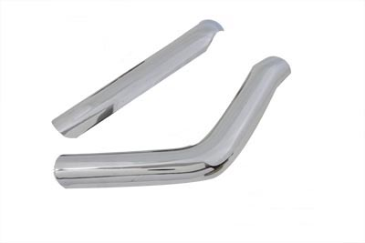 Front and Rear Heat Shield Set Smooth Style