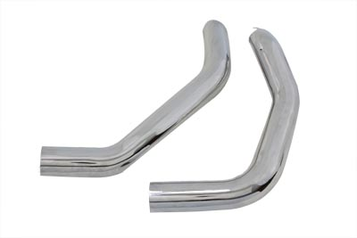 Drag Exhaust Pipe Heat Shield Set