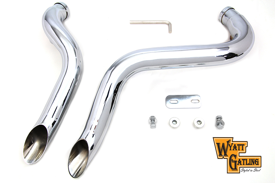 Wyatt Gatling Down Draft Exhaust Header Set