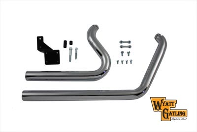 Wyatt Gatling Drag Exhaust Pipe Set Short Stuff Style