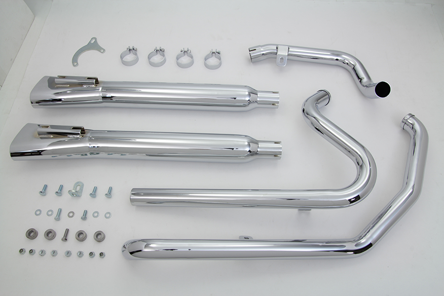 Crossover Exhaust Header and Muffler Kit