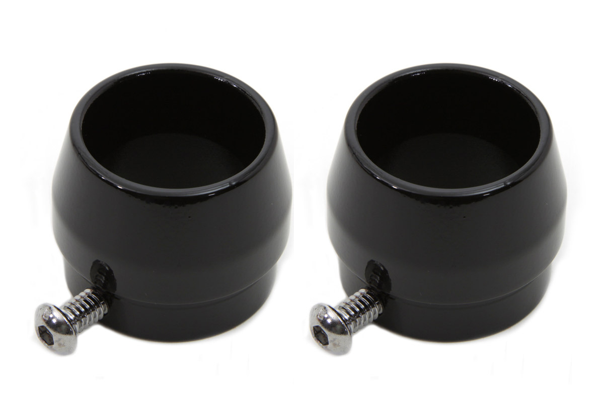 Black Tips for 1-3/4 Straight Pipe Exhausts