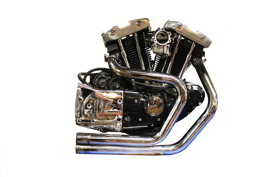 2:1 Exhaust Header Set Chrome