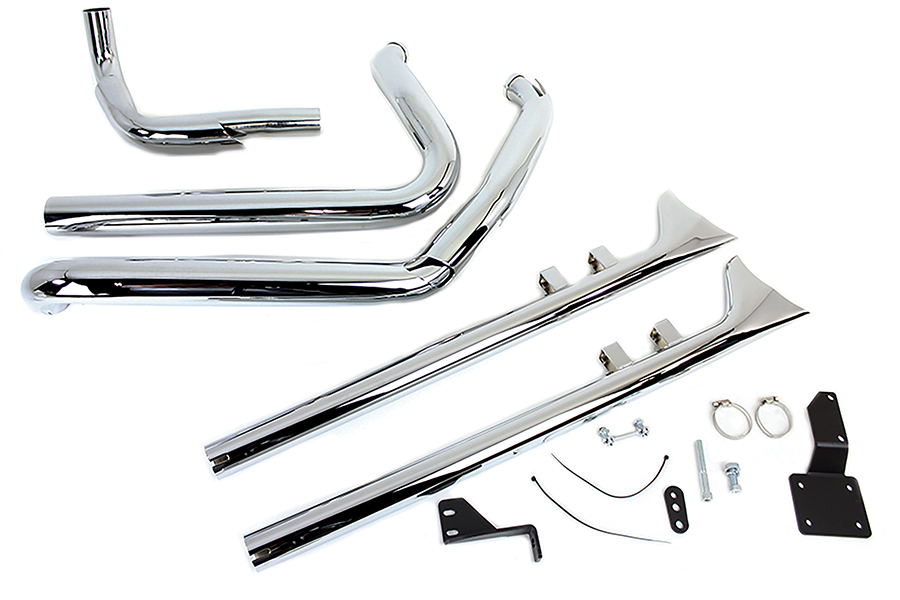 True Dual Exhaust Header Kit