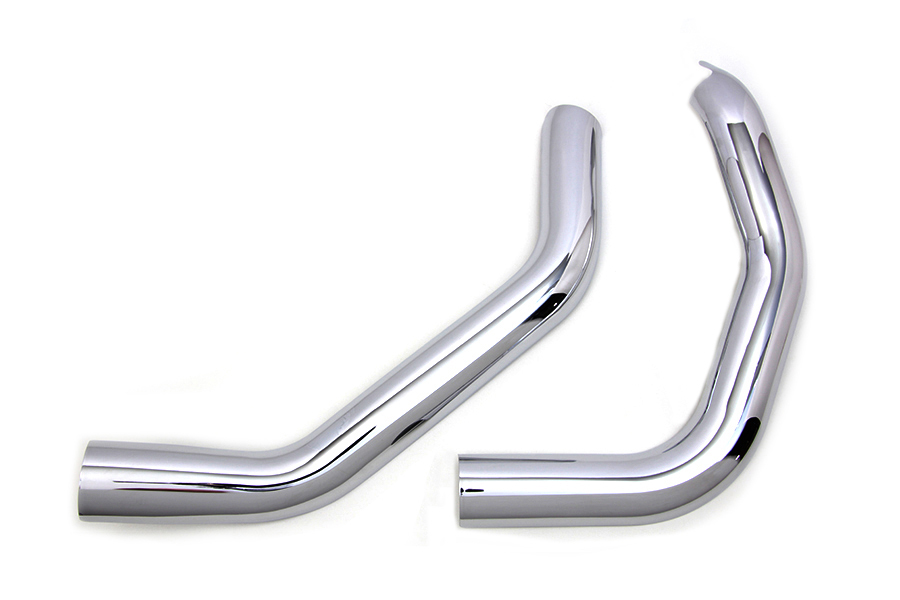 Plain Heat Shield Set Chrome