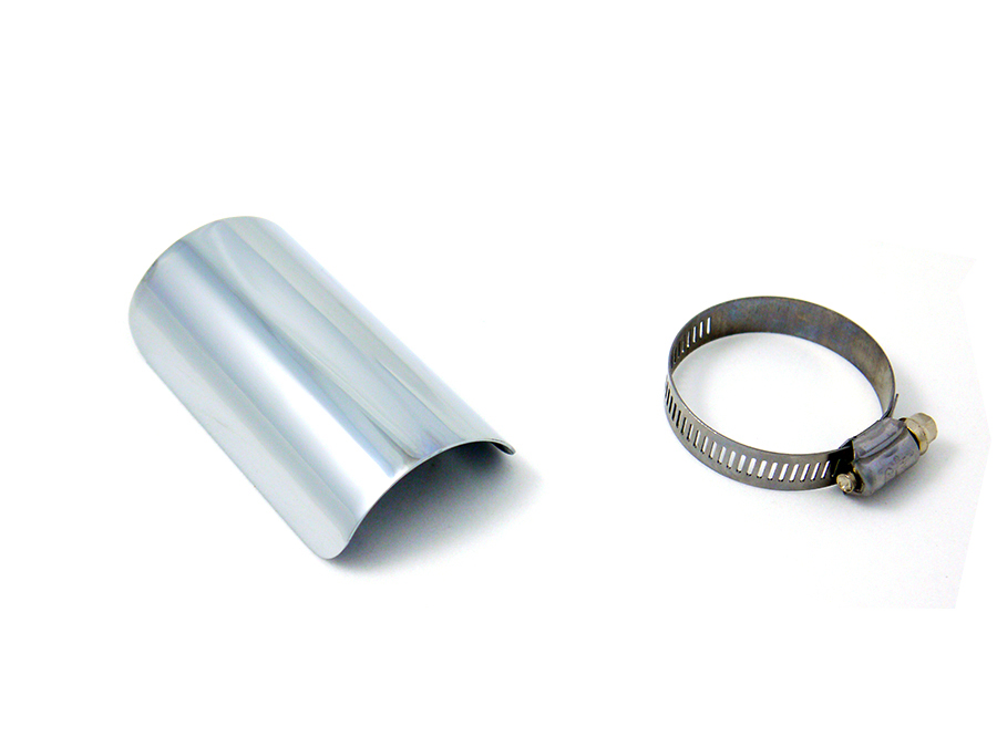 "4"" Exhaust Heat Shield Chrome"