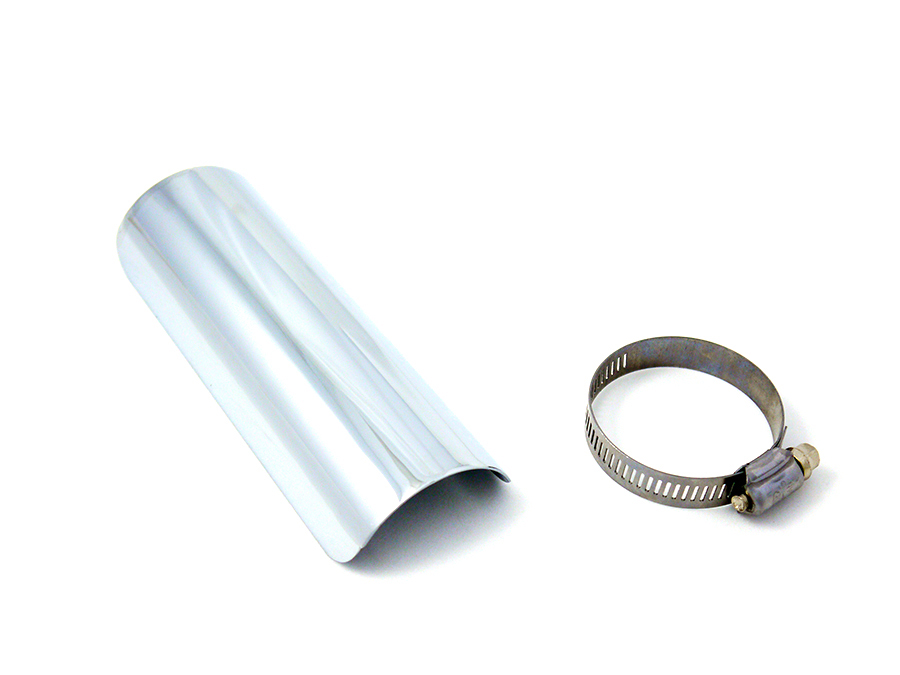 "6"" Exhaust Heat Shield Chrome"