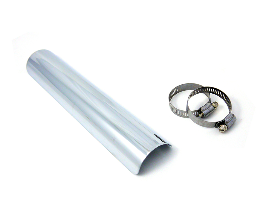 "12"" Exhaust Heat Shield Chrome"