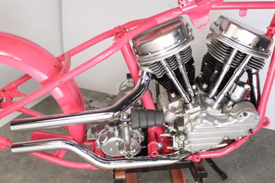 Exhaust Drag Pipe Set Side by Side Style