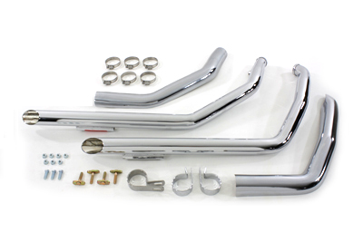 Exhaust Drag Pipe Set