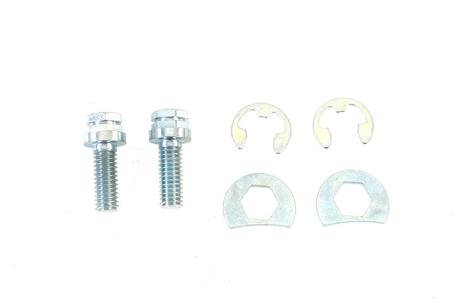 Exhaust Pipe Locking Bolt Mounting Kit Zinc