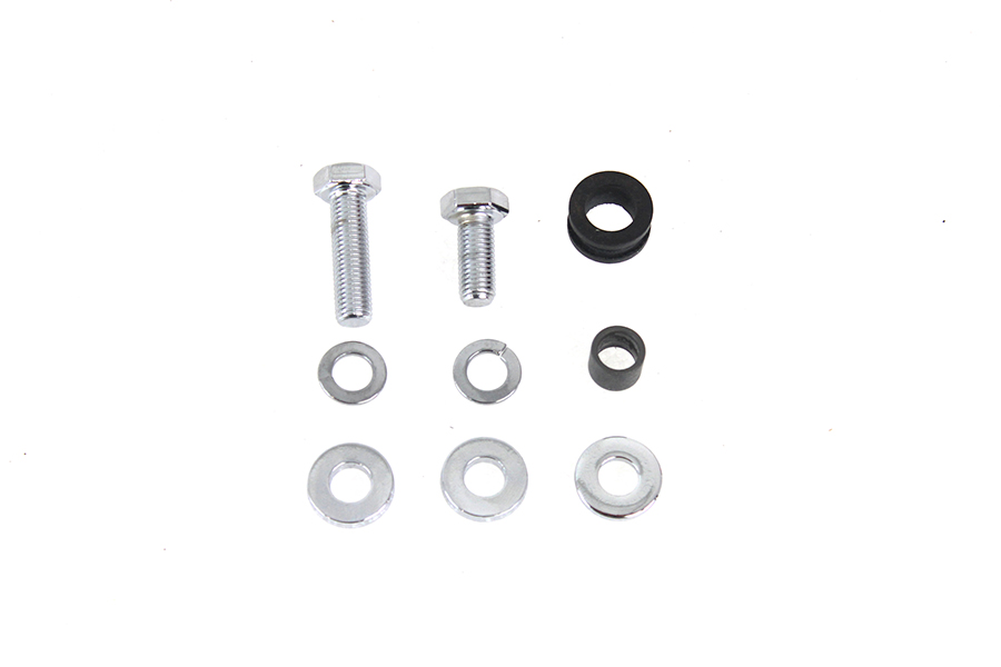 Rear Chain Guard Mounting Kit Chrome Plated