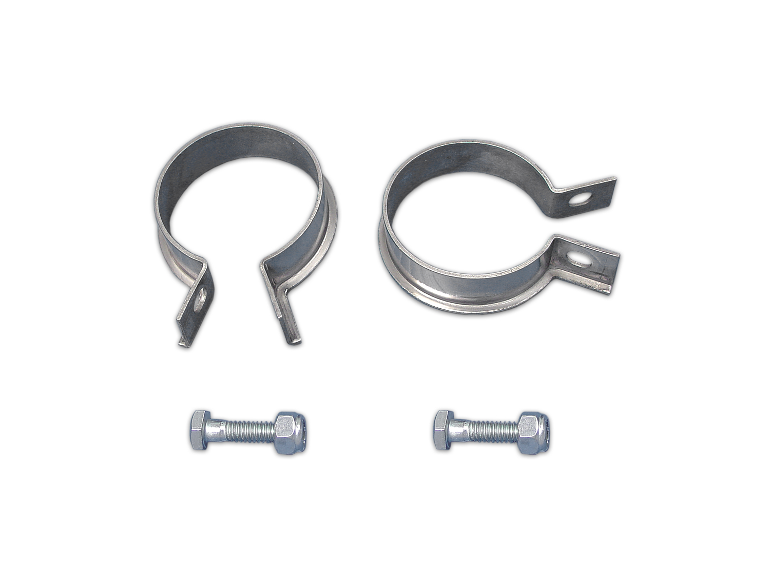 Exhaust Header Clamp Set Stainless Steel