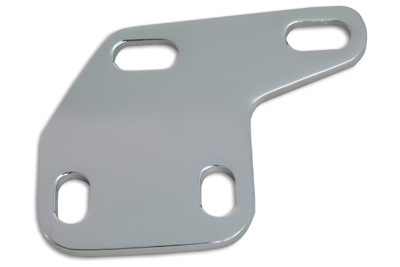 Chrome Upper Front Motor Mount