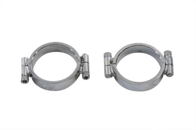 Chrome Allen Type Exhaust Clamp Set