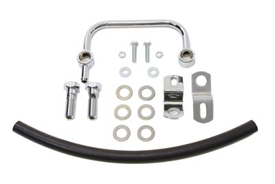 XL Air Cleaner Breather Kit Chrome