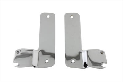Windshield Mount Brackets Chrome