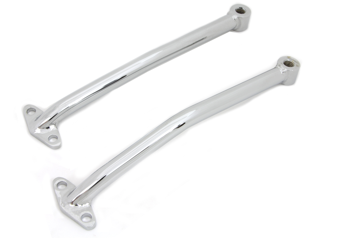 Chrome Rear Fender Brace Set