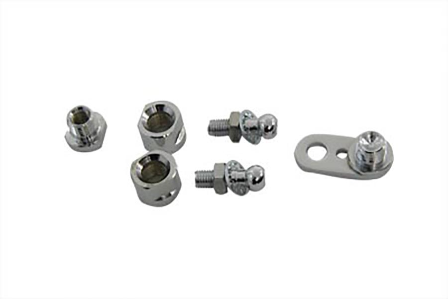 Chrome Front Turn Signal Clamp Ball Stud
